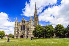 Salisbury, Wiltshire, Engeland, Groot-Brittannië stock afbeeldingen