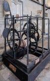 SALISBURY, WILTSHIRE/UK - 21. MÄRZ: Das Welt-` s älteste Arbeiten Lizenzfreies Stockbild