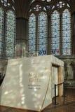 SALISBURY, WILTSHIRE/UK - 21. MÄRZ: Magna Carta in Salisbury Ca Stockbilder