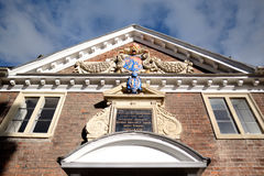 SALISBURY, WILTSHIRE/UK - MARCH 21 : Facade of Matrons College 1 Stock Photography