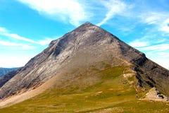 Salita alla scelta della montagna immagine stock libera da diritti