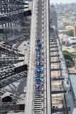 Salita del ponte della lista del secchio Immagini Stock