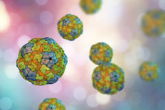 Saliviruses, a novel genus of viruses which causes gastroenteritis. Saliviruses, a novel genus of viruses from Picornaviridae family which causes gastroenteritis Stock Image