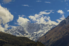Salkantay χιονοσκεπές μέγιστο Cuzco Περού Στοκ εικόνα με δικαίωμα ελεύθερης χρήσης