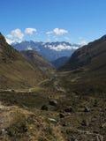 Salkantay Inca Trail in Cusco, Peru. Stock Photography