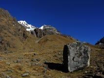 Salkantay Inca Trail dans Cusco, Pérou Photographie stock libre de droits