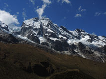 Salkantay Inca Trail dans Cusco, Pérou Photo stock