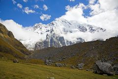 Salkantay peak Royalty Free Stock Images