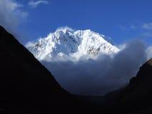 Salkantay szczyt Zdjęcie Stock