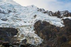 Salkantay Trekking Peru. The road to Machu Pichu Stock Photography