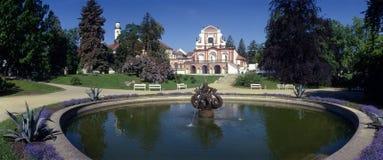 Salla terrena. A historical pavillon in a garden Stock Photography