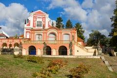 Salla Terrena Klasterec nad Ohri immagine stock libera da diritti