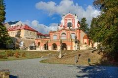 Salla Terrena Klasterec nad Ohri fotografie stock libere da diritti