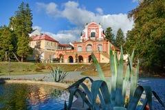 Salla Terrena Klasterec nad Ohri fotografia stock