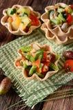 Sallad av blandade grönsaker Royaltyfri Bild