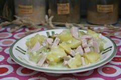 Sallad av potatisar Royaltyfri Bild