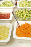 Sallad buffet Royalty Free Stock Images