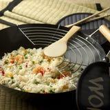 sallad för rice 01 Royaltyfri Fotografi