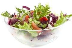Sallad från grönsaker Fotografering för Bildbyråer