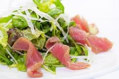 Sallad med tonfiskkött och grönsaker Royaltyfria Bilder