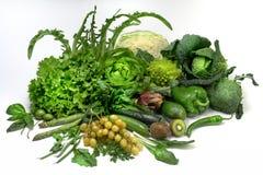 Sallad och grönsaker Royaltyfri Fotografi