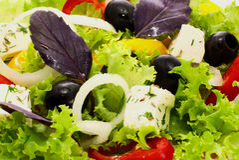 salladgrönsak Arkivfoton