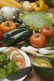 salladgrönsaker Arkivfoton