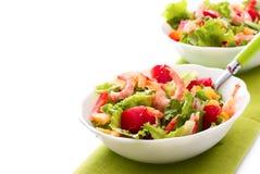 salladräkagrönsak Arkivfoton