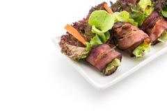 salladrulle med bacon Royaltyfria Foton