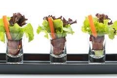 salladrulle med bacon Arkivfoto
