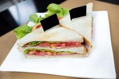 Salladsmörgås Fotografering för Bildbyråer