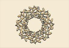 Sallallahualaihi van Muhammad wasallam Stock Illustratie