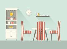 Salle à manger 1 de conception Images stock