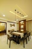 Salle à manger moderne dans Calicut Image libre de droits