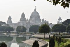 Salle commémorative Calcutta, musée célèbre de Victoria d'Inde images libres de droits