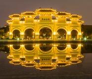 Salle commémorative de Chiang kai-shek à Taïpeh, Taiwan images stock