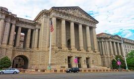 Salle d'Andrew W Mellon dans le Washington DC Photographie stock libre de droits