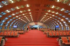 Salle d'attente à l'aéroport Photographie stock libre de droits