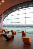 Salle d'attente à l'aéroport Image stock