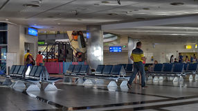 Salle d'attente à l'aéroport Photo libre de droits