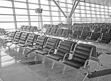 Salle d'attente à l'aéroport Images libres de droits