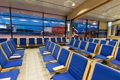 Salle d'attente d'aéroport Photos libres de droits