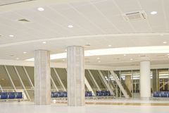 Salle d'attente d'aéroport Image stock