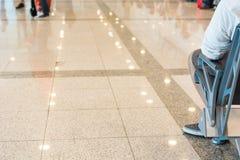 Salle d'attente d'aéroport Photo libre de droits