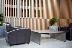 Salle d'attente de luxe image libre de droits
