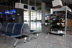 Salle d'attente de terminal d'aéroport Photo libre de droits