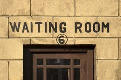 Salle d'attente rédigée Photographie stock libre de droits