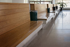 Salle d'attente vide Image stock