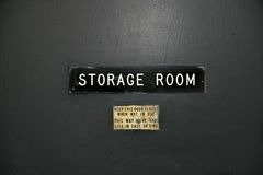 Salle d'entreposage Photographie stock libre de droits