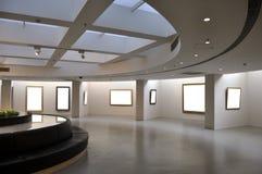 Salle d'exposition Images libres de droits